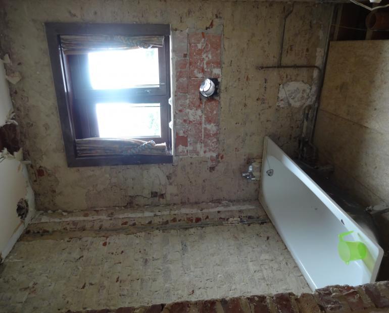 Vernieuwen van badkamer veranda en keuken in denderleeuw nog in